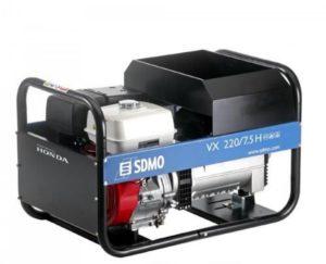Ģenerātors/metināšanas aparāts 380 v 7.5 kW (benzīns)